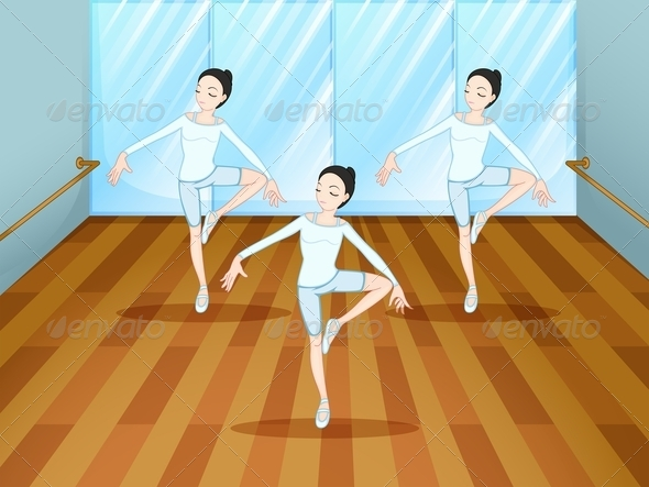 GraphicRiver Dance Rehearsal in Studio 7902627