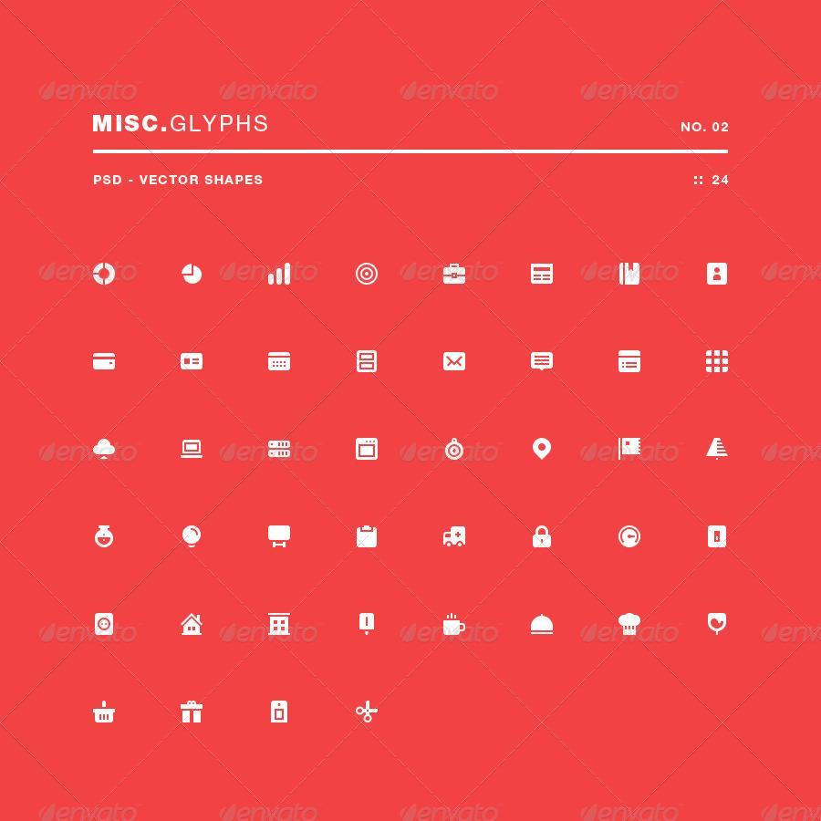 Misc Glyphs 02