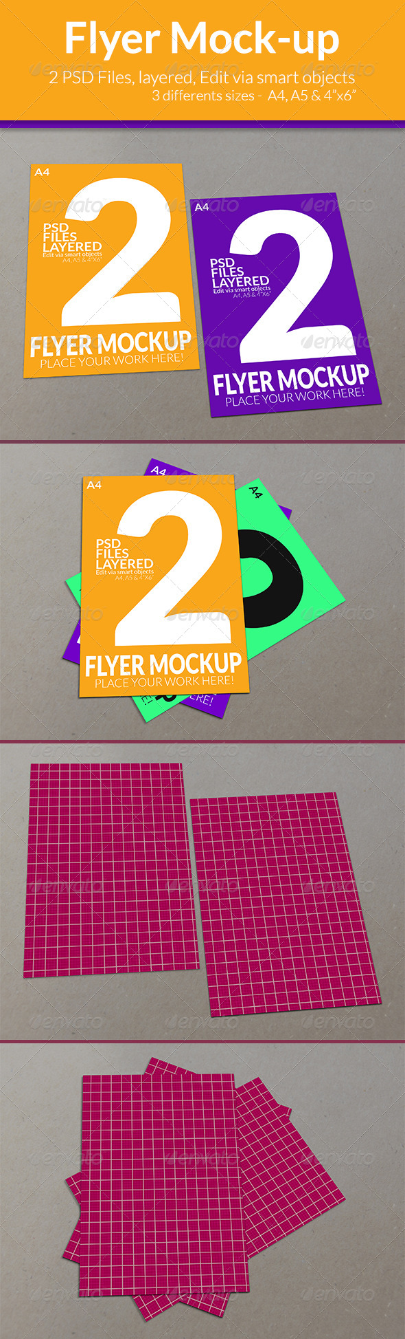 GraphicRiver Flyer Mock-up SS-6 7902707