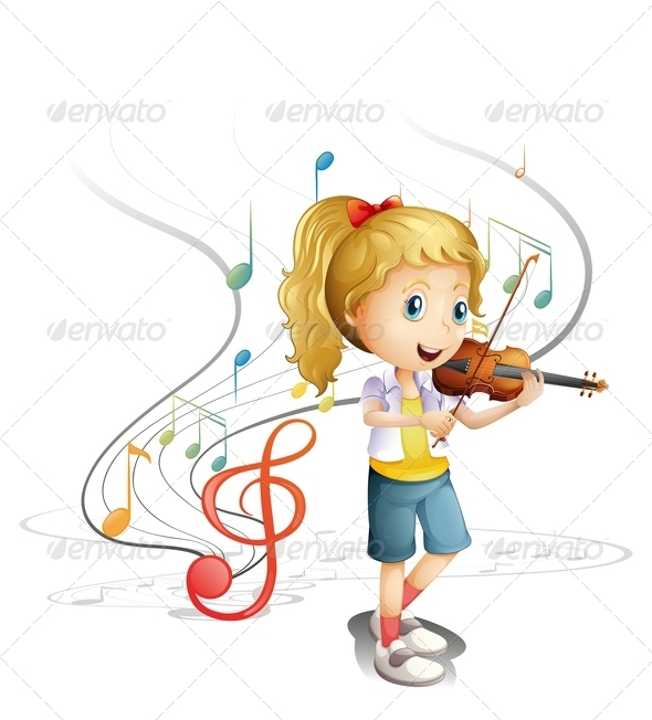 GraphicRiver Young Musician 7902888