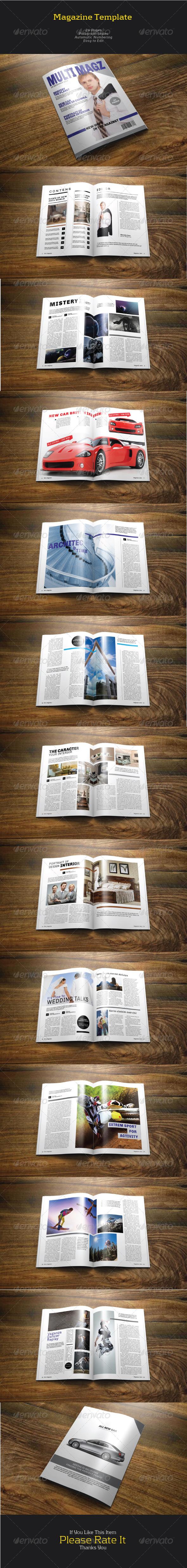 GraphicRiver Multy Magazine 7837271