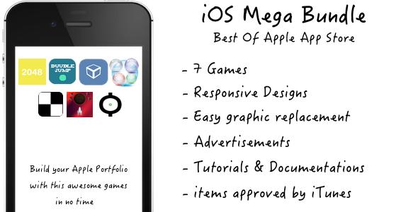 CodeCanyon iOS Game Bundle 7861903