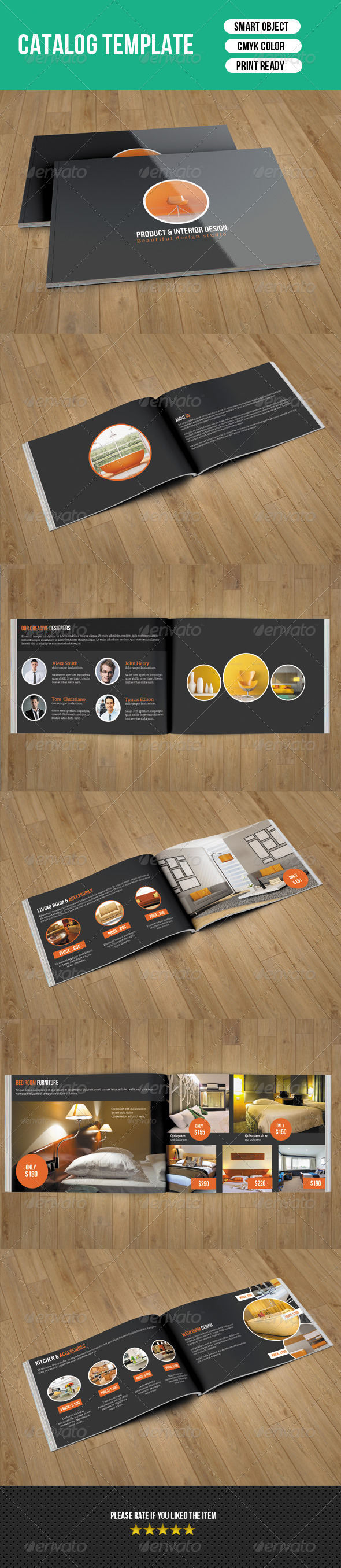 GraphicRiver Interior Catalog Template-V11 7903724