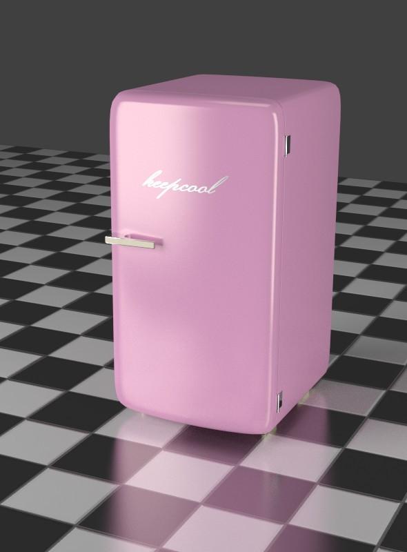 3DOcean Refrigerator Pink 7903732