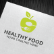 Healthy Food Logo Template - GraphicRiver Item for Sale