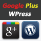 Google Plus Connect for WordPress - CodeCanyon Item for Sale