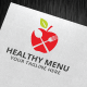 Healthy Menu Logo Template - GraphicRiver Item for Sale