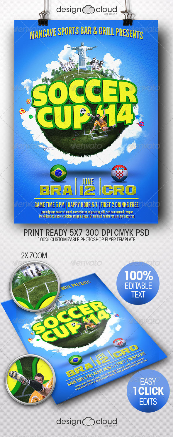 GraphicRiver Soccer Cup Global Edition 7904970