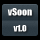 vSoon - Responsive Coming Soon With Countdown - CodeCanyon Item for Sale