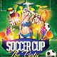 Soccer Cup The After Party Flyer Template PSD - GraphicRiver Item for Sale
