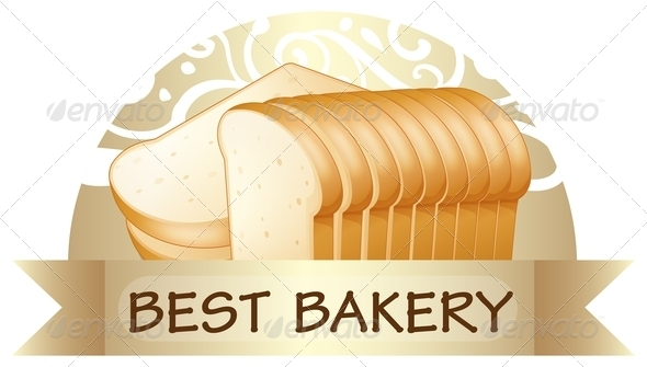 GraphicRiver A Bread with a Best Bakery Label 7905050