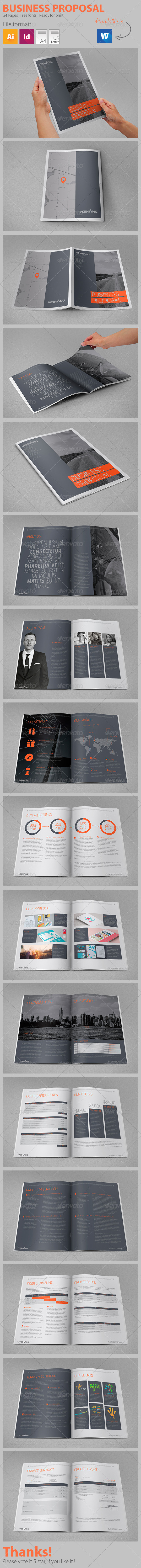 GraphicRiver Business Proposal 7905103