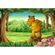 A stump with a Big Bear - GraphicRiver Item for Sale
