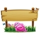 Tired Monster Under the Empty Signboard - GraphicRiver Item for Sale