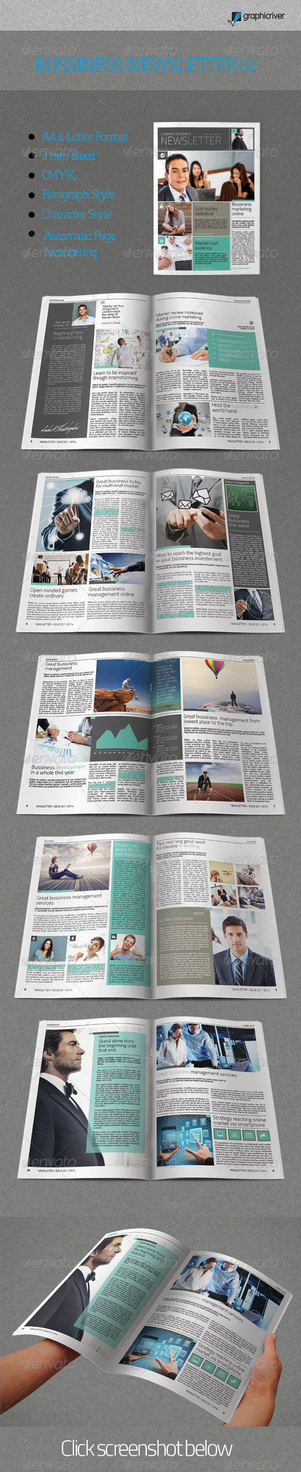 GraphicRiver Bussiness Newsletter 02 7905536