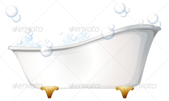 GraphicRiver Bathtub 7905700