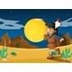 Desert with a Young Indian - GraphicRiver Item for Sale