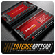 IntenseArtisan Business Card Vol.3 - GraphicRiver Item for Sale
