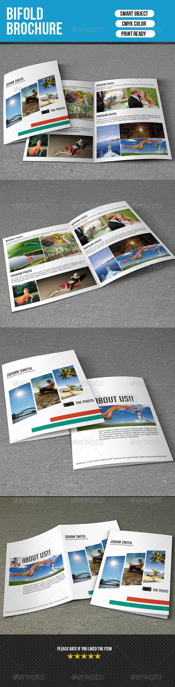 GraphicRiver Photography Brochure-V33 7906456