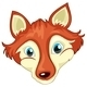Head of a Fox - GraphicRiver Item for Sale
