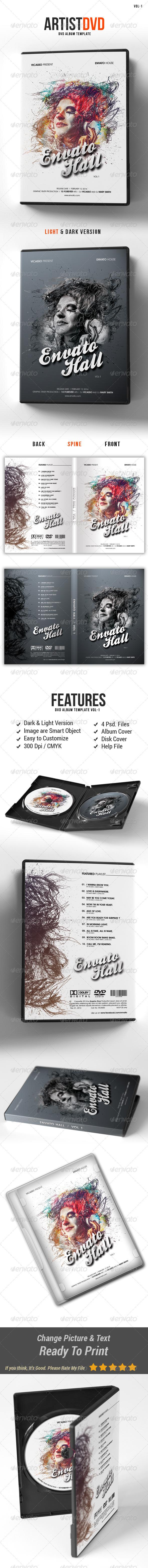 GraphicRiver Artist DVD 7906770
