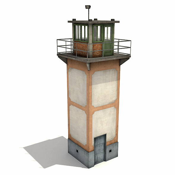 3DOcean Guard Tower 7907062