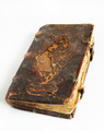 Ancient worn book with leather cover - PhotoDune Item for Sale