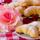 Breakfast croissant and coffee - brioches - PhotoDune Item for Sale