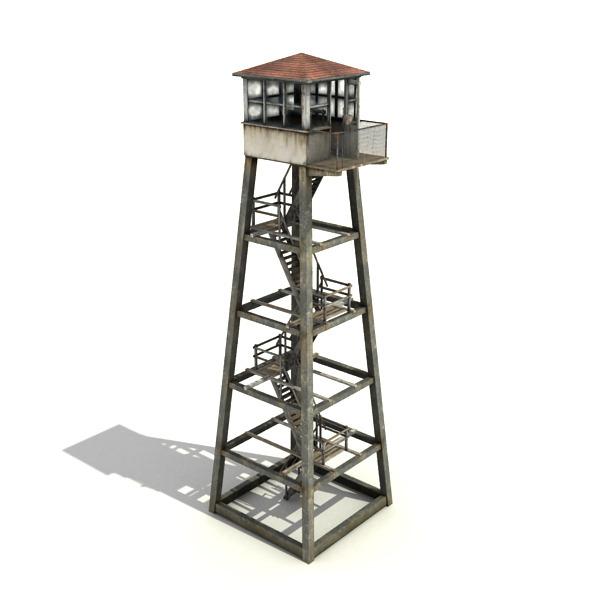 3DOcean Guard Tower 7907147