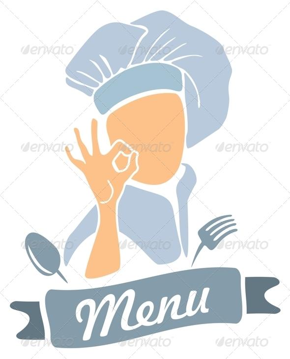 GraphicRiver Chef Cook Presenting Menu 7907202
