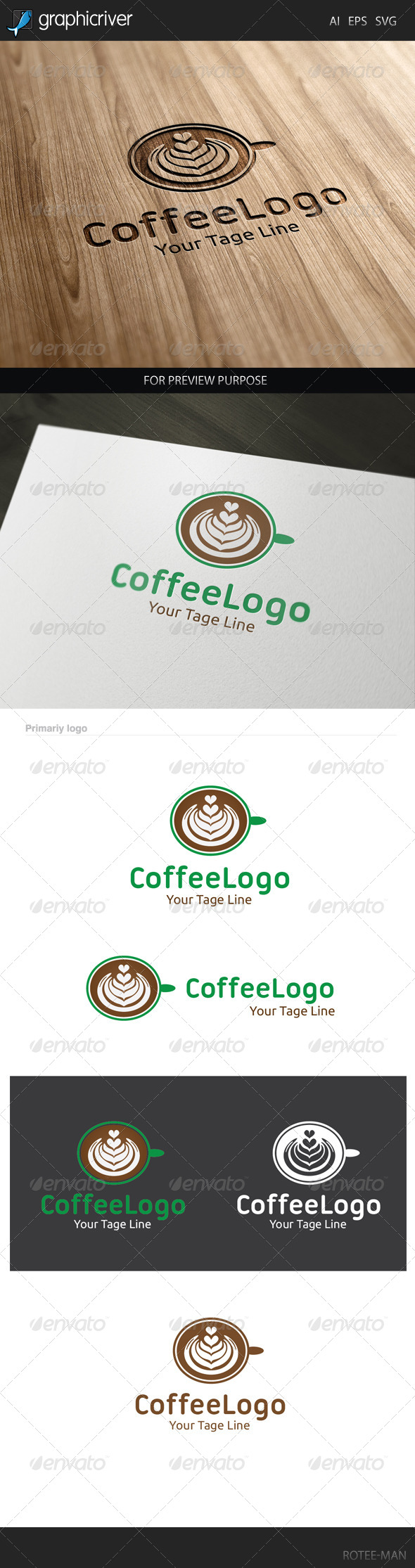 GraphicRiver Coffee Logo 7907230