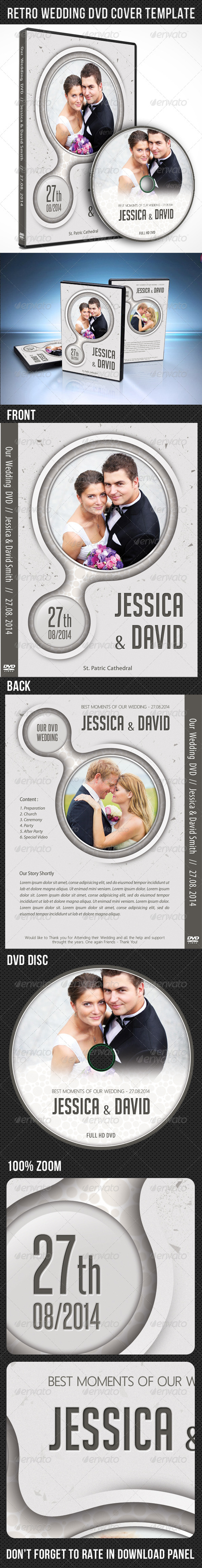 GraphicRiver Wedding DVD Cover Template 05 7907356