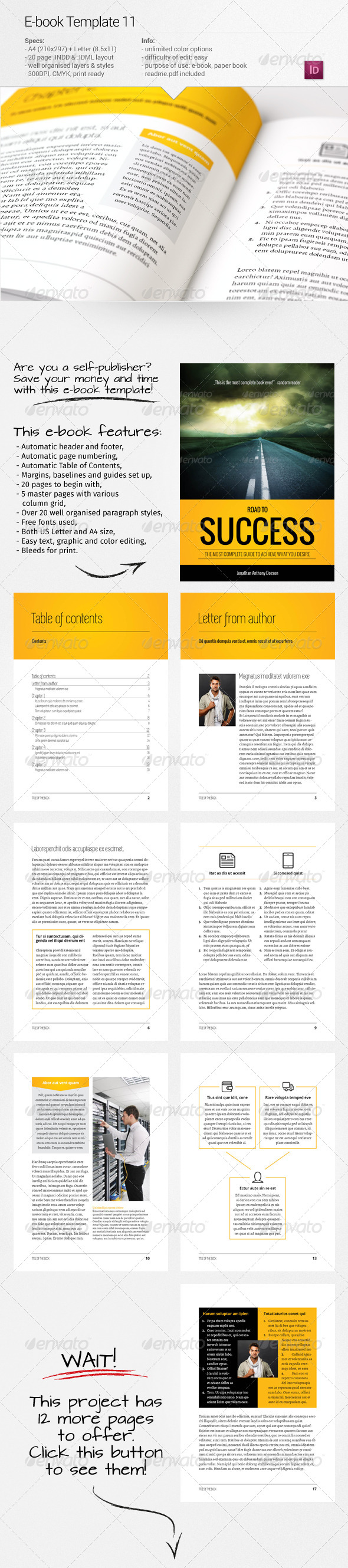 GraphicRiver E-book Template 11 7907380