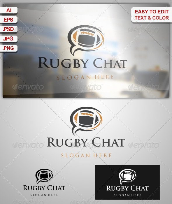 GraphicRiver Rugby Chat 7908031