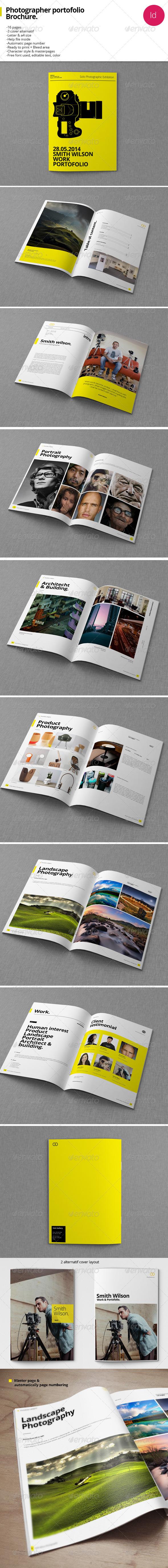 GraphicRiver 16 Pages Personal Photograph Portofolio 7902050