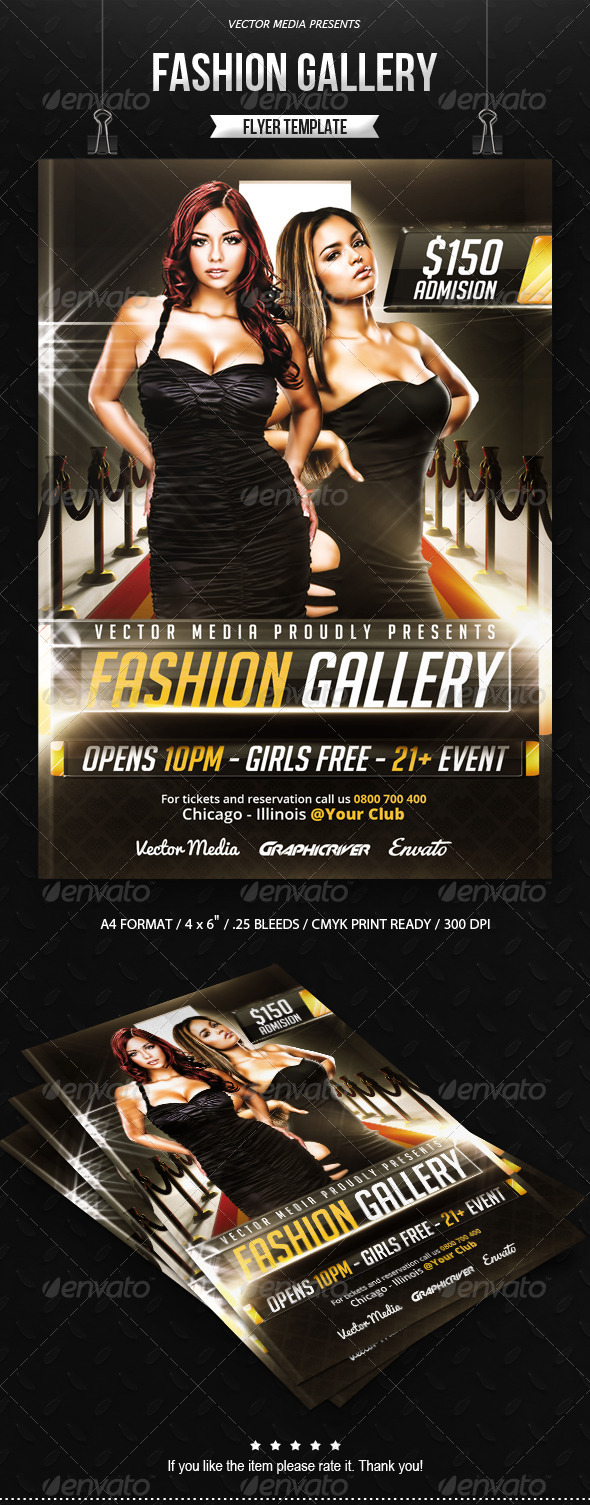 GraphicRiver Fashion Gallery Flyer 7908120