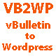 vBulletin to Wordpress Importer - CodeCanyon Item for Sale