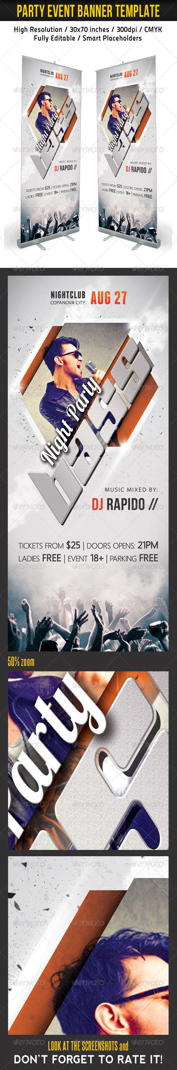 Party Event Multipurpose Banner Template 07