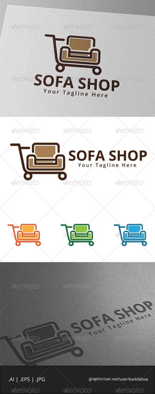 GraphicRiver Sofa Shop Logo 7908645
