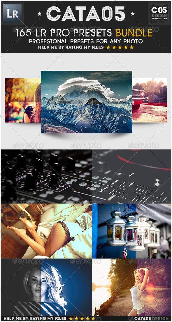 GraphicRiver 165 LR Pro Presets Bundle 7908942