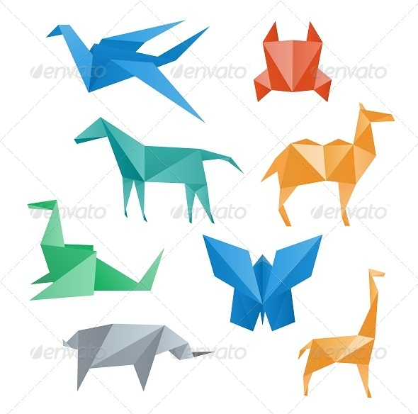 GraphicRiver Paper Animals Wildlife 7908964