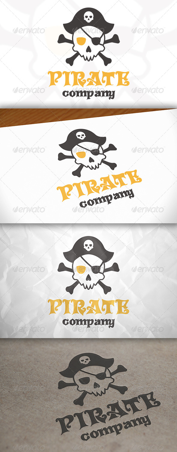 GraphicRiver Pirate Logo 7909026