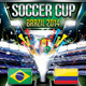 Soccer Cup (Flyer Template 4x6) - GraphicRiver Item for Sale