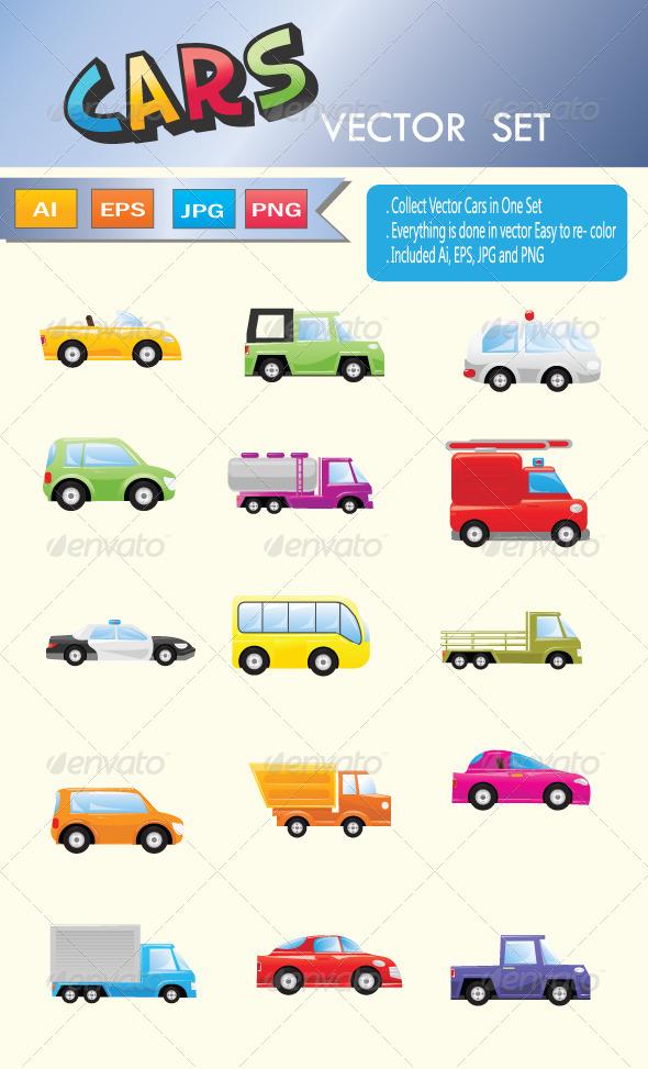 GraphicRiver Cars 7895602