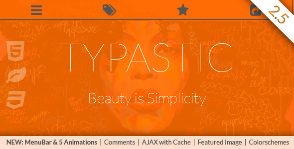 Typastic 2.5 - Beauty is Simplicity