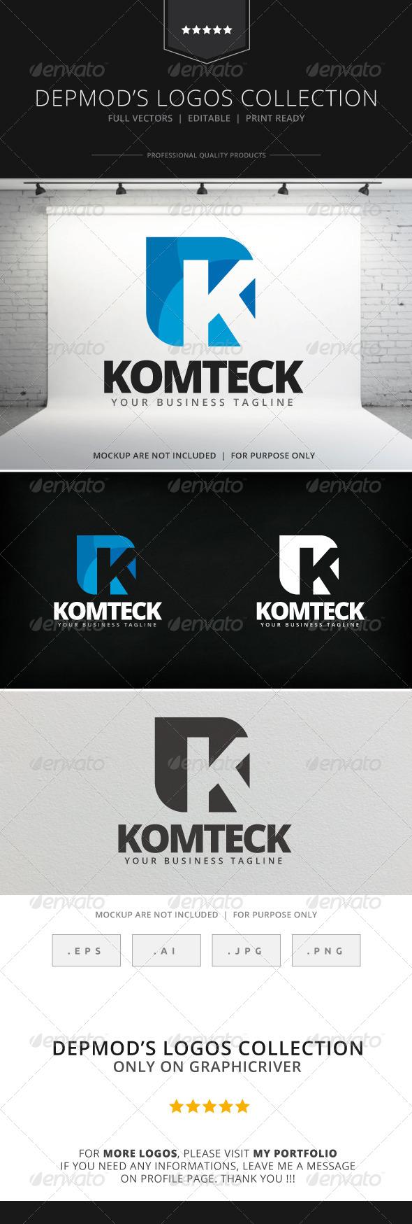GraphicRiver Komteck Logo 7909338