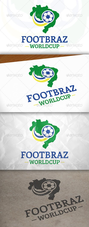 GraphicRiver Brazil Football Logo 7909441