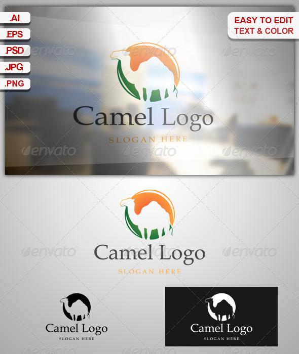 GraphicRiver Camel Logo 7909751