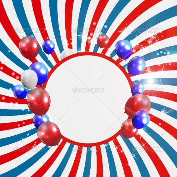 GraphicRiver Independence Day Poster Vector Illustration 7909914
