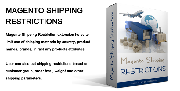 CodeCanyon Magento Shipping Restrictions 7909917